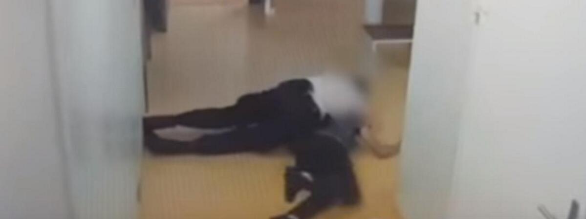 """殴打嫌疑人视频曝光:法国一实习警察涉""""暴力""""罪被起诉"""