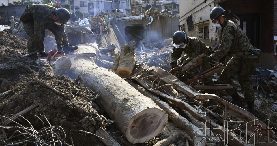 日本西部地区暴雨死亡人数上升至219人 4800人疏散
