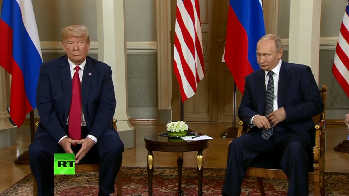 普京称是时候就双边关系讨论了 特朗普:有机会把关系搞好
