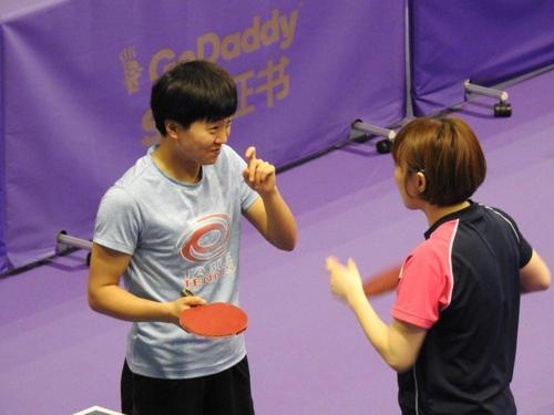 韩媒:韩朝选手合训备战国际乒联韩国公开赛