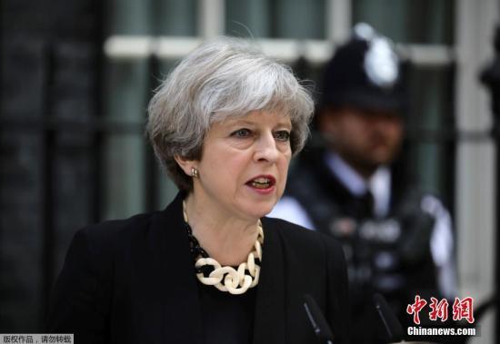民调:英国首相特雷莎·梅的支持率跌至新低