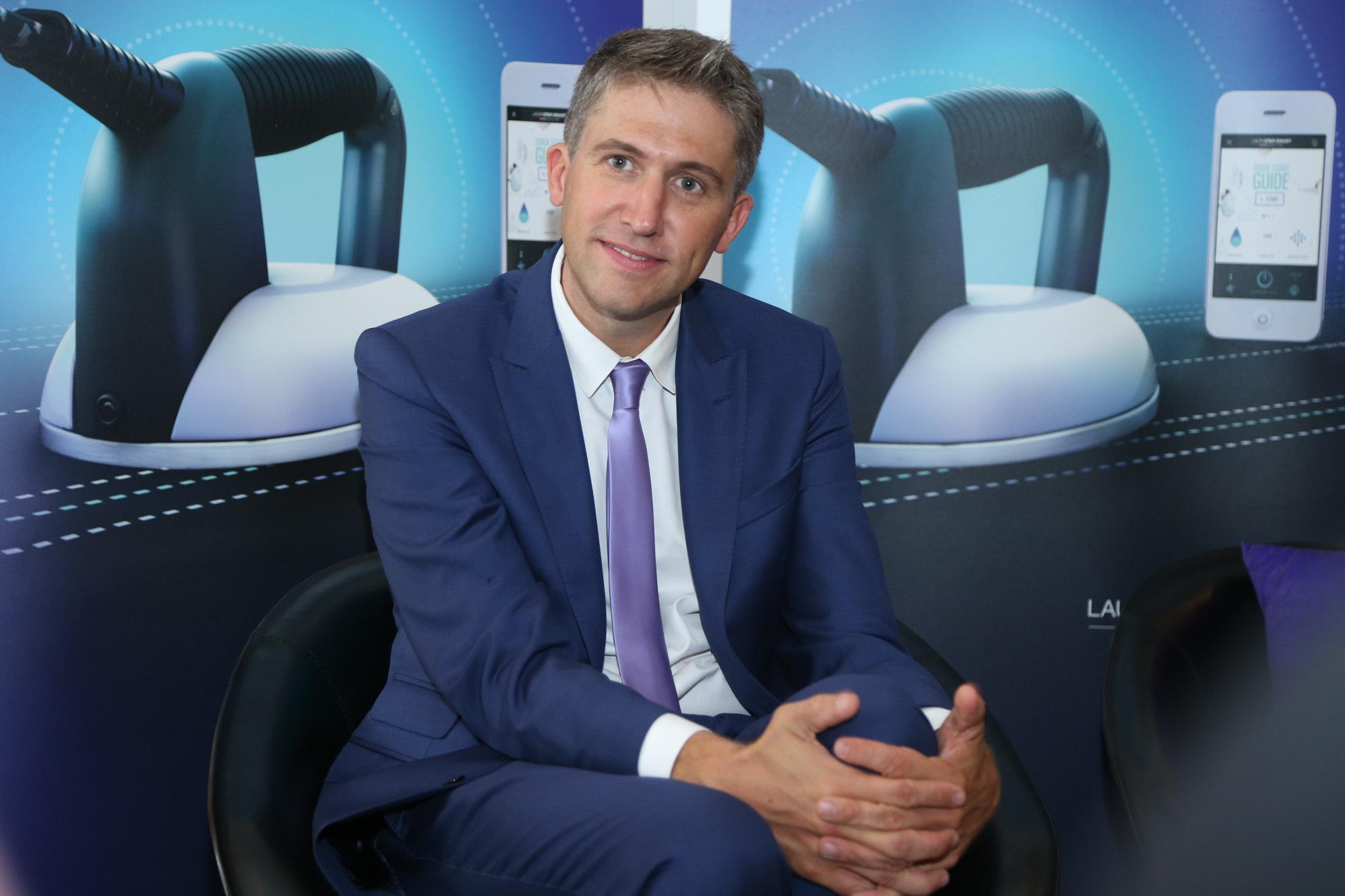 环球网时尚专访:瑞士国宝级熨烫品牌Laurastar全球商务总监Michael Monney