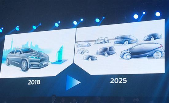 福特透露新能源规划 首款电动汽车续航480km