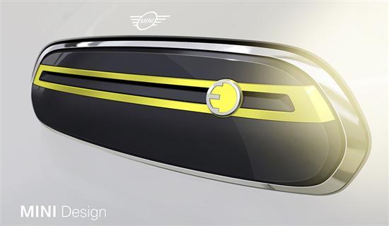 电动版MINI官方预告图发布 沿用概念车设计