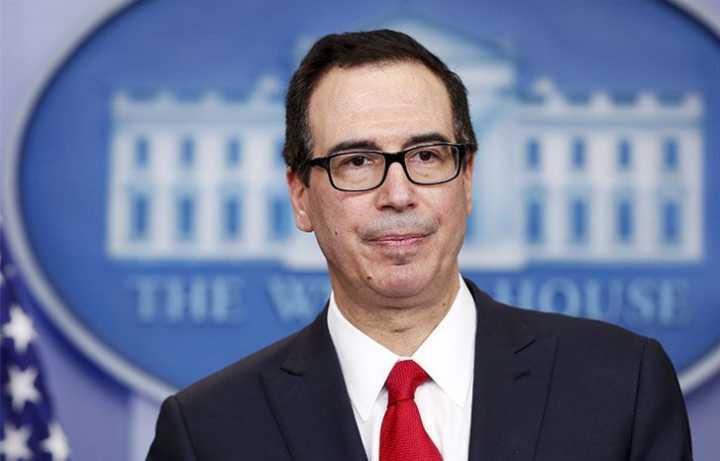 美财长:考虑给予进口伊朗原油的部分国家制裁豁免