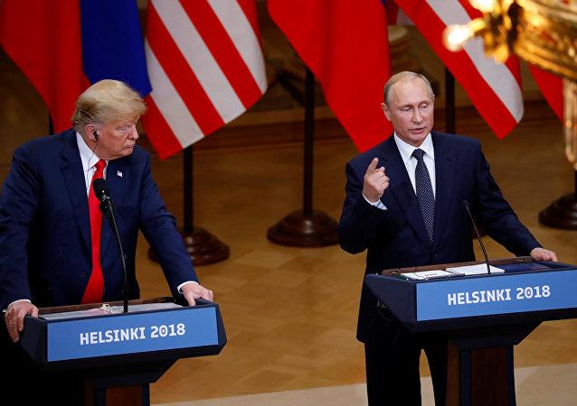普京会见特朗普:俄方没有干涉、也不打算干涉美国选举