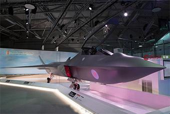 范堡罗航展英国祭大招:曝自研六代机全尺寸模型