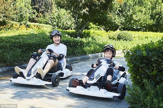 纳恩博公司发布新套件:平衡车秒变卡丁车