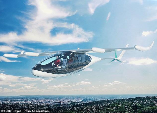 劳斯莱斯承认研发飞行出租车 预计2020年推出