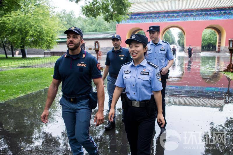 意大利警察来华携手中方巡逻热点旅游城市