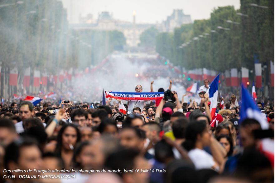 """法国智库:""""雄鸡""""夺冠提升法国软实力 但魔力短暂"""