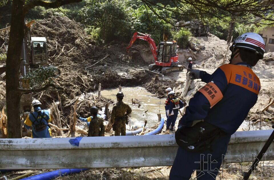 西日本暴雨死亡人数升至222人 逾4000人仍疏散在外