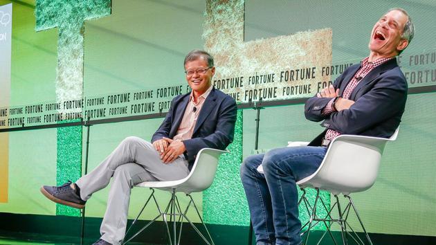 雅虎联合创始人杨致远:我很幸运能遇见马云