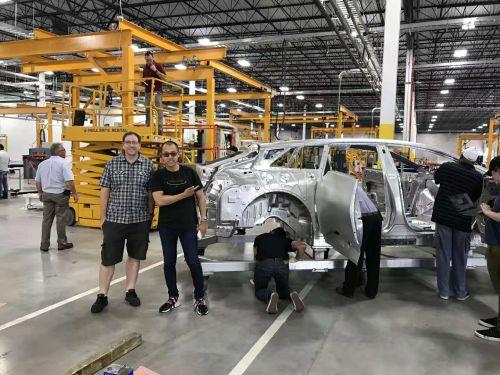 FF员工朋友圈曝光 技术问题已解决 首台白车身定型