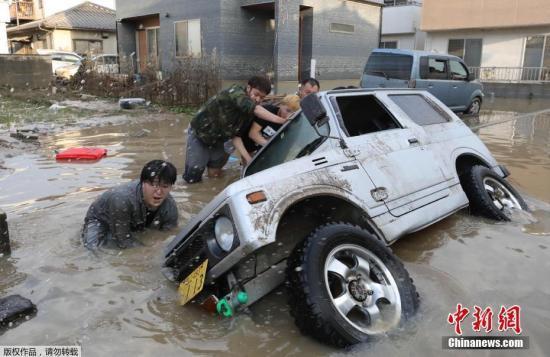 暴雨灾情冲击日本经济 安倍出策挽救受灾产业