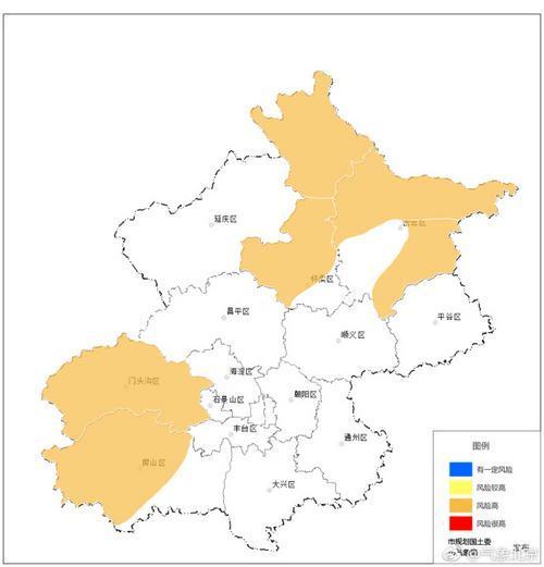 北京发布地质灾害橙色预警 发生泥石流等风险高