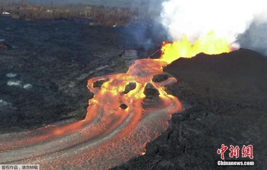 夏威夷基拉韦厄火山熔岩击中观光船 致23人伤