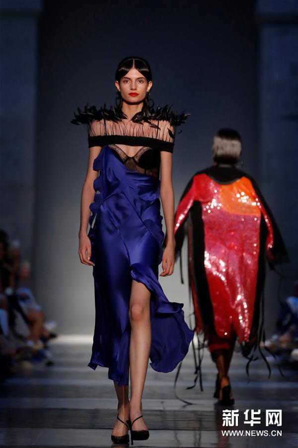 马德里时装周——设计师胡安·比达尔时装秀