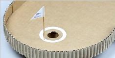 如何用纸板制作迷你高尔夫桌面游戏