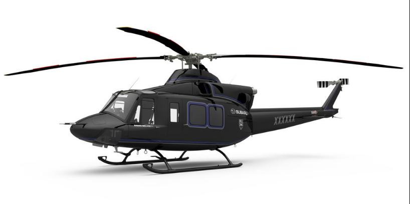 贝尔与斯巴鲁合作推出贝尔412EPX直升机
