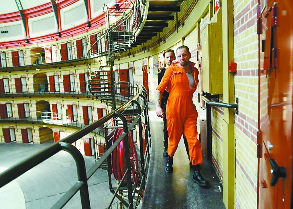 """在荷兰监牢体验""""越狱"""""""
