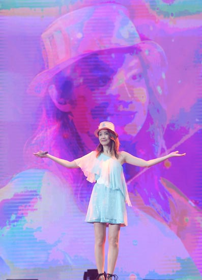 陈慧琳7月25日音乐会筹备中 门票已售罄