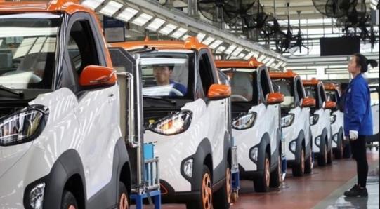 中国的电动汽车工厂数量将超美国欧盟日本之和