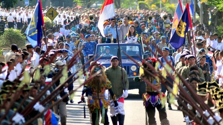 亚运会前加强警戒:印尼警方击毙11名轻罪嫌犯