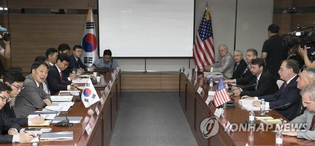 韩美明举行第五轮防卫费谈判 此前分歧较大未能达成妥协