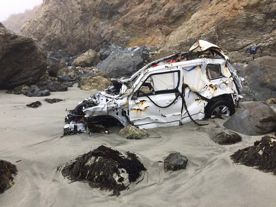 男子驾车坠落悬崖 一周后被发明奇观生还