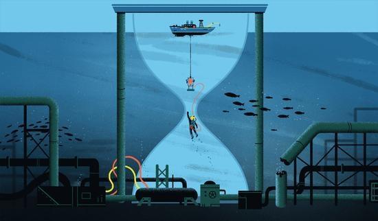 世界上最危险的工作:常年在深海中 日薪过万