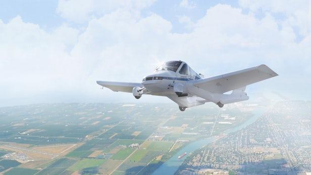Terrafugia Transition飞行汽车将采用混合动力系统