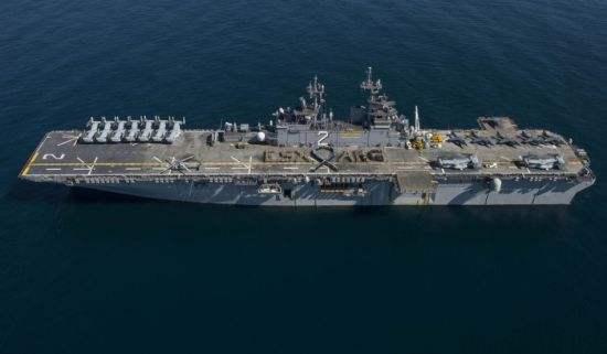 外媒:美军两栖舰悄然部署西太 搭载F35B战机