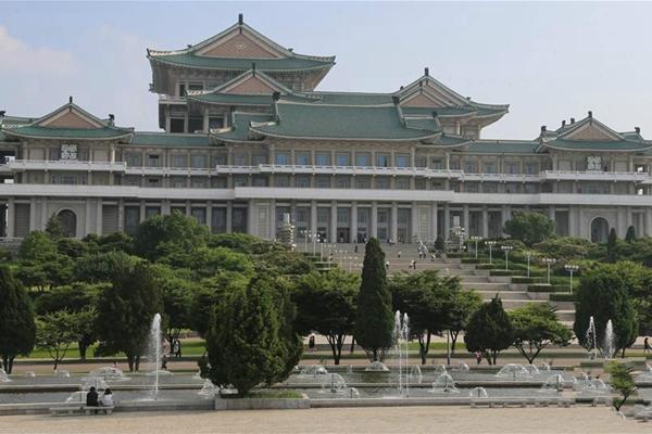 全民教育、终身学习的基地——朝鲜人民大学习堂访问记