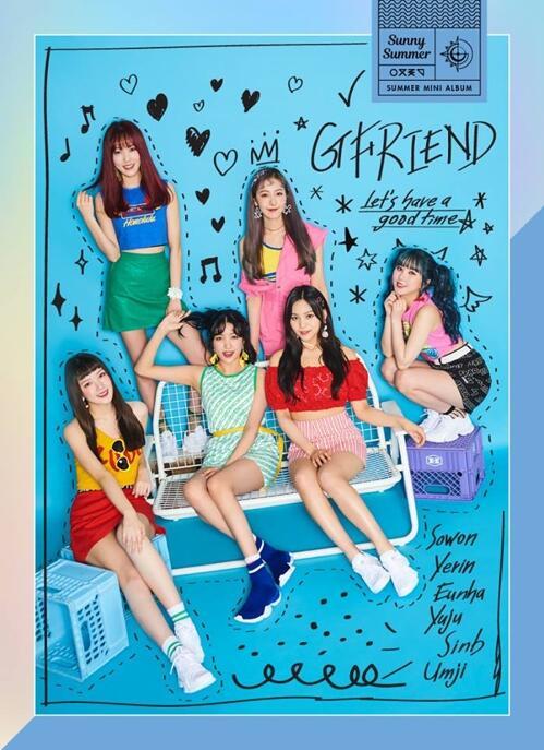 韩国女团GFRIEND发夏日专辑《Sunny Summer》