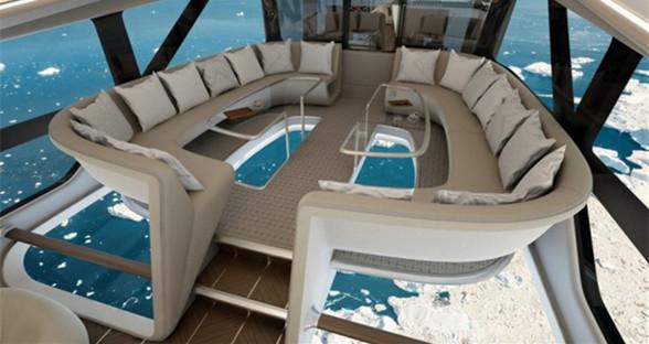 HAV奢华飞艇内部装饰公布 要来次空中旅行吗?