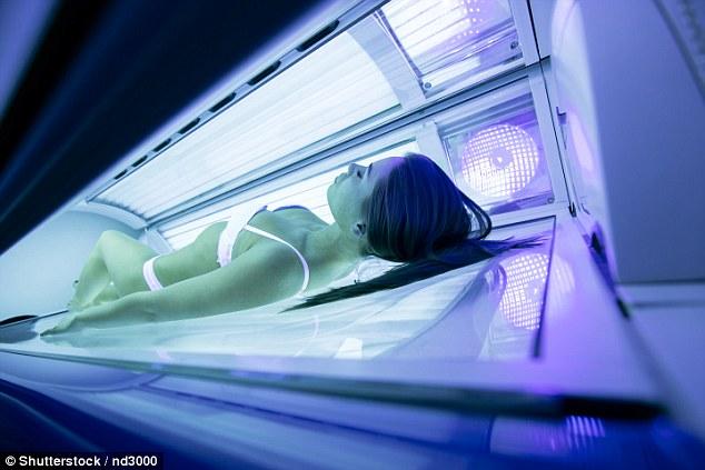 研究:晒日光灯美黑会上瘾 患皮肤癌人数猛增