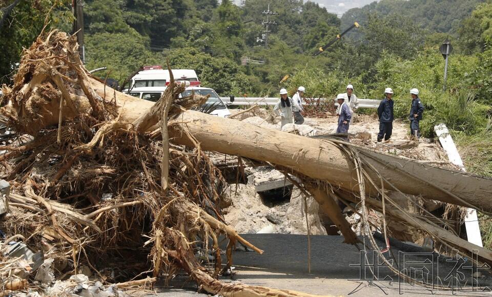 西日本暴雨遇难者死因7成以上为窒息和溺亡