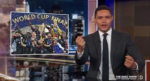 美主持人称法国世界杯夺冠靠非洲人涉种族歧视