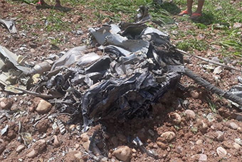 还没摔完?印空军米格21战机坠毁飞行员死亡