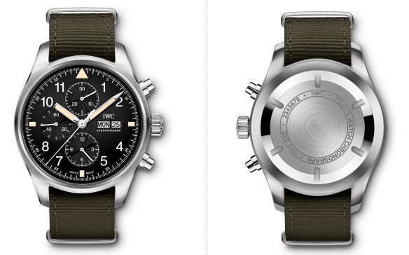 回归经典原型设计 IWC万国表全新飞行员计时腕表