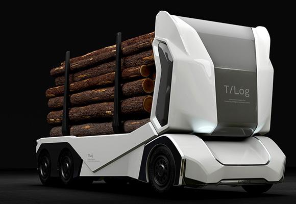 瑞典自动驾驶卡车惊艳亮相 远程操控零排放
