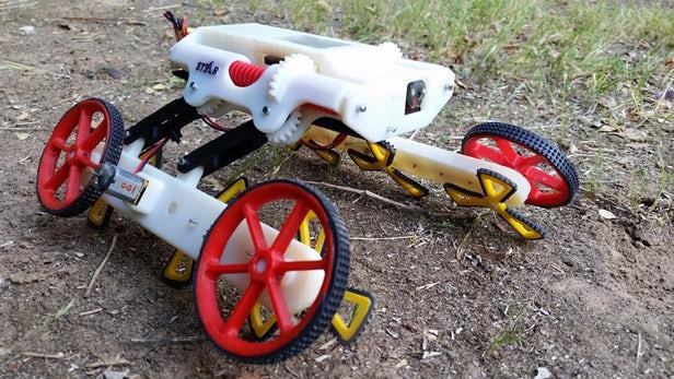 RSTAR爬行机器人有朝一日可以挽救生命