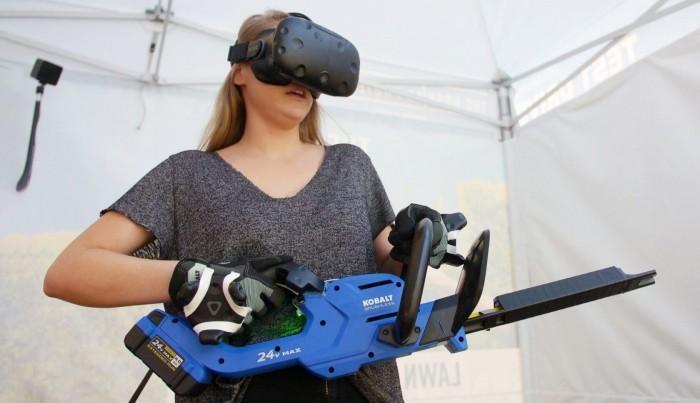 美公司利用VR让消费者提前亲身体验商品使用情况