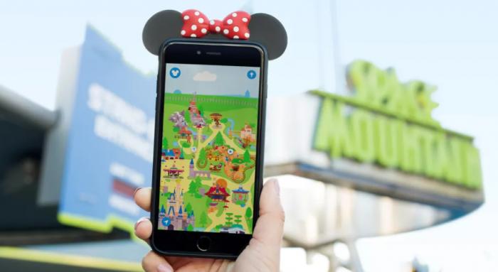 迪士尼给游客们推出一款排队专用AR手游