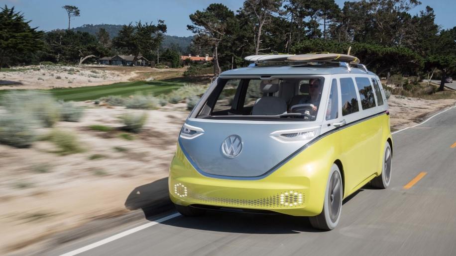 从概念到投产 大众纯电动小巴I.D. BUZZ将量产