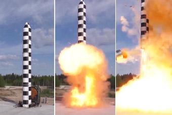 从运输装填到发射 近距离感受俄新款核大棒试射