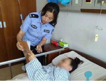 市民行动不便无法现场办业务 南京车管所民警上门服务获赞