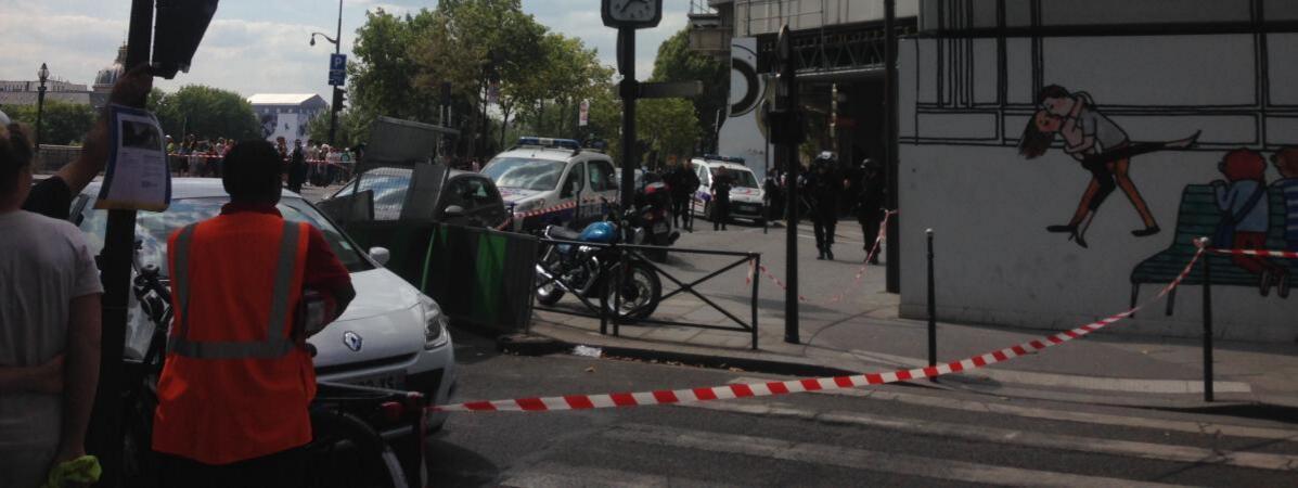 """巴黎名表店被抢 警方""""掘地三尺""""未捕获嫌疑人"""
