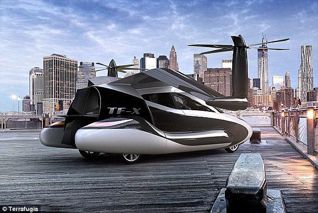 吉利子公司Terrafugia计划2019年发售飞行汽车